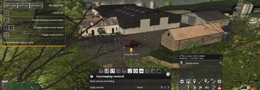 SandyBay AutoDrive Courses v1.0