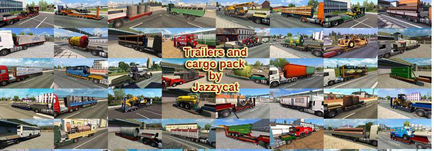 Trailers and Cargo Pack by Jazzycat v9.0
