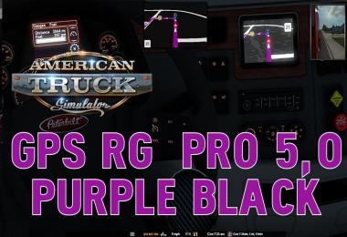 GPS RG PRO PURPLE BLACK ATS v5.0