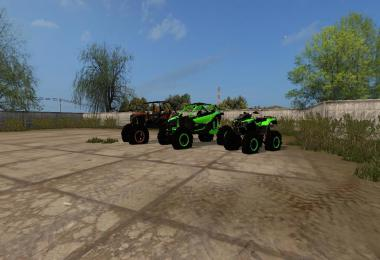 Lifted atv pack (CAN-AM Polaris) v1.0