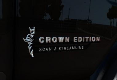 Crown Edition badge for Scania RS by RJL v1.1