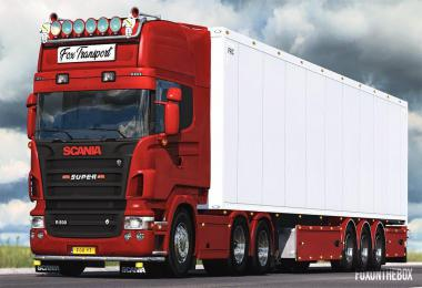 Scania V8 Open Pipe Sound 1.39