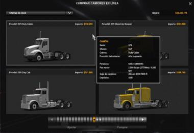 625 HP Engines for all Trucks [SP & SP] 1.38.x