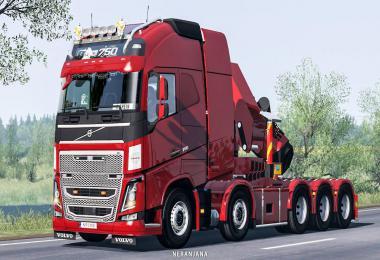 Volvo FH16 2012 Mega Mod by RPIE v1.39.0.46
