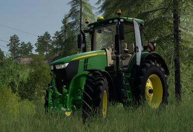 John Deere 7R with SIC including sound v1.0