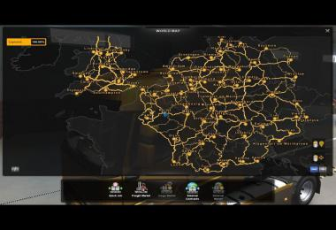 ETS2 Full Save Game NO DLC TruckersMP Singleplayer 1.38