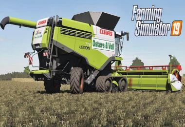 Claas Lexion Osters & Voss Edition v1.0.0.0