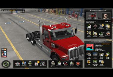 ATS Full Save Game NO DLC TruckersMP Singleplayer for 1.38