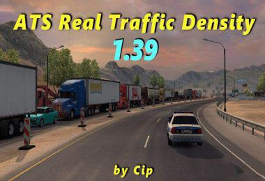 ATS Real Traffic Density by Cip 1.39.a