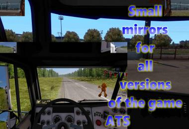 [ATS] Small Mirrors for all Versions v1.0