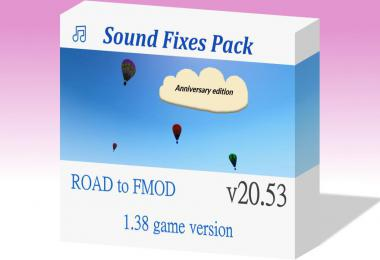[ATS] Sound Fixes Pack v20.53 1.38