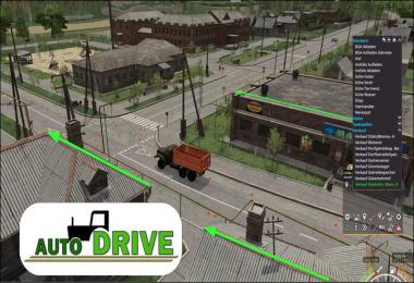 AutoDrive courses for the Sosnovka Map v1.0