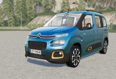 Citroen Berlingo MULTISPACE XTR 2018 v2.0