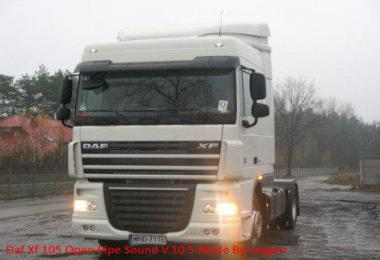 DAF XF Open Pipe Sound v10.5 by Oxygen