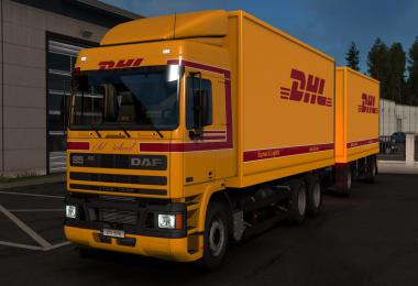 DHL skin for DAF 95 by XBS by kRipt REWORKED v1.2