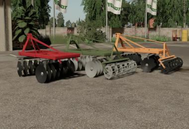 Disc Harrow 1.8m v1.0.0.0