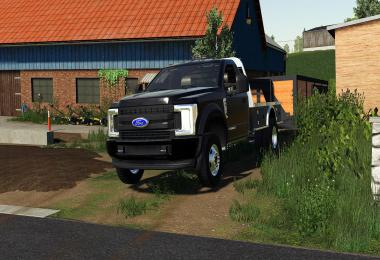 EXP19 2019 Ford F-550 Flatbed v1.0.0.0