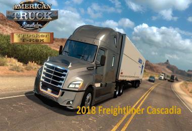 Freightliner Cascadia 2018 v1.18 Fixed 1.39