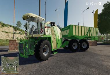 Krone BiG X 1180 Cargo Converted v1.0.0.0