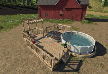 Garden Decking And Pool v1.1.0.0