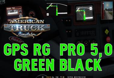 GPS RG PRO GREEN BLACK ATS v5.0