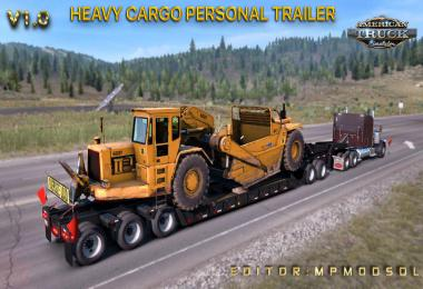 Heavy Cargo Personal Trailer Mod For ATS Multiplayer v1.0