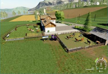 Horse places for the HorseRanch in Felsbrunn v1.0.0.0