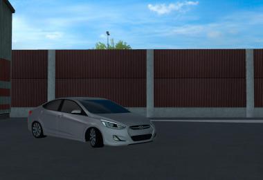 Hyundai Accent Blue 2010 V5 1.38