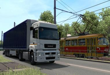 Kamaz 5490 Neo and 65206 + Full set of ETS2 1.39.x Beta