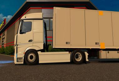 Low deck mod for Shumi's MP4 Actros 1.38.x