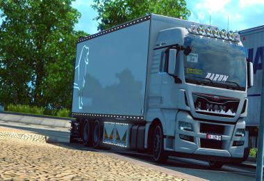 MAN TGX Euro6 Thermo Truck 1.38