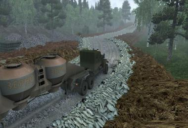 Map Harsh Russian Siberia r5 ETS2 1.38