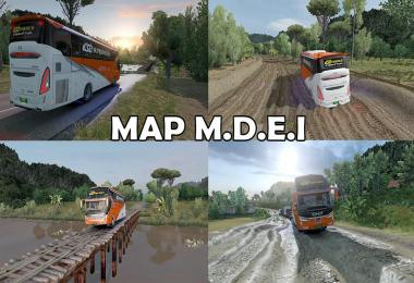 Map M.D.E.I Reworked by RIZKY ARIFIN ETS2 1.30 to 1.38