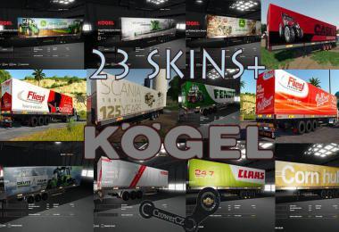 Mega Pack Kogel Autoloader Trailers v1.0.0.0