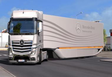 Mercedes AeroDynamic Trailer v1.2.1 1.38