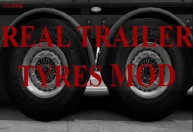 Real Trailer Tyres Mod v1.6 1.38