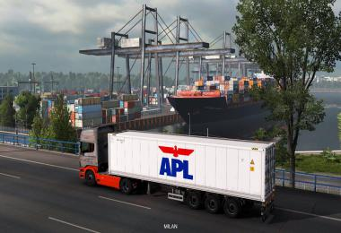 Reefer Container Cargo Pack v2.2 by Satyanwesi 1.38.x