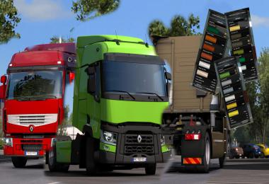 Renault Big Colours Pack v1.1 1.39