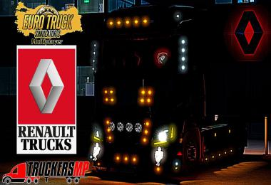 Renault T V8 Custom Tuning for Multiplayer [TruckersMP] v1.0