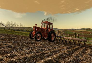 Rusty Tractor With Old Plow v1.0.0.0