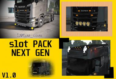 Scania NEXT GEN slot pack v1.0