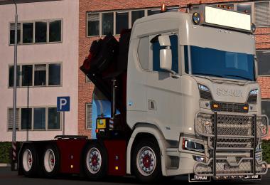 Scania Ng CraneChassi v1.0