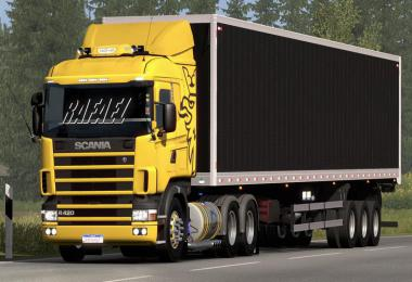 Scania R&S and 124G Brazilian edit Update for ets2 1.38