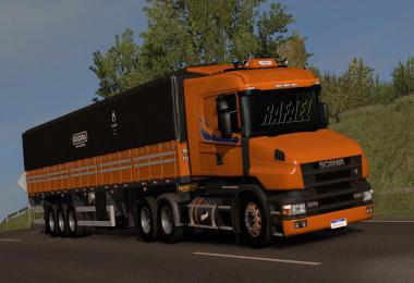 Scania T and T4 Brazilian edit Update for ets2 1.38
