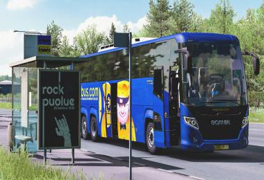 Scania Touring Bus Mod 1.39