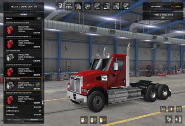 SCS Western Star 49x original engines sound update v1.0