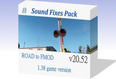 Sound Fixes Pack ETS2 v20.52