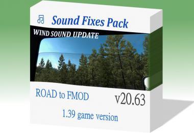 Sound Fixes Pack - ATS + ETS2 v20.63