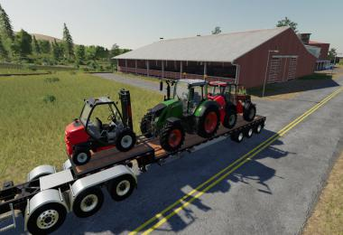 Step Deck Trailer IBM LPM85 v1.0.0.0