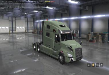 Trucks: Volvo VNL 2018 v2.25 and v2.26 ATS 1.38.x